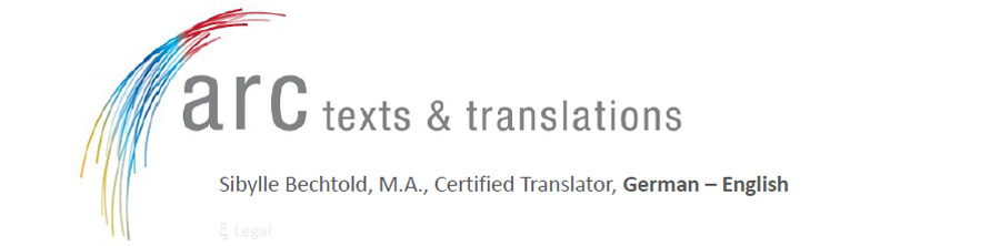 Certified translations - german english